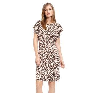 Tory Burch | Gladys Midi Cheetah Cocktail Dress 8